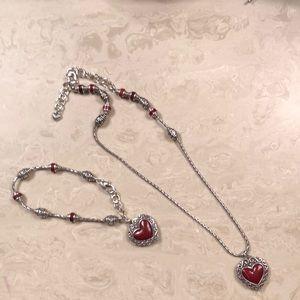 BRIGHTON Park Avenue necklace and bracelet set
